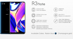 LAVA R3 Note Price in Bangladesh and full specification