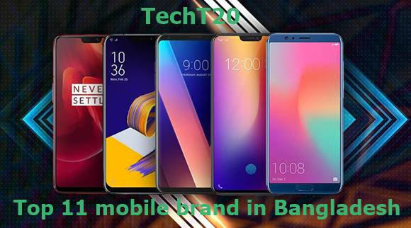 Top mobile brand in Bangladesh