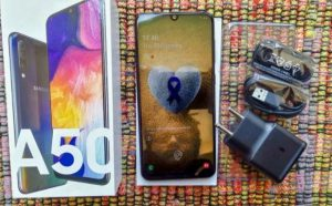 Samsung Galaxy A50 review by techt20