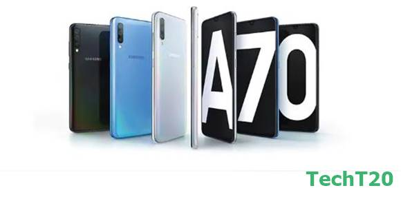 Today Samsung Galaxy A70 released in Bangladesh